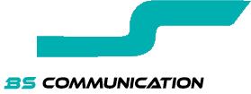 BS Communication - logo blanc