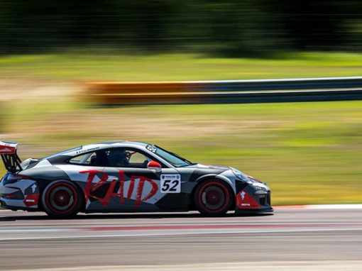 Covering Porsche 911 GT3 Cup
