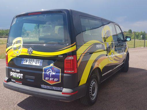 Covering Minibus AS Sarrey Montigny